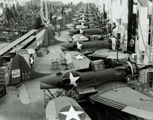 1280px douglas sbd production line 1943
