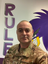 New Buzzard Chief - Chief Master Sergeant Chad T. Gaddy