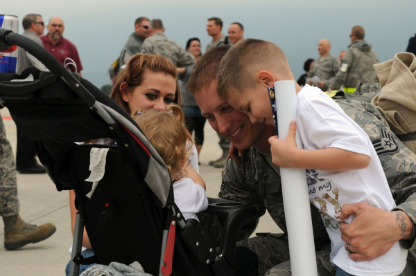 Aviano Welcomes 300 Airmen Back Home